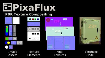 PixaFlux 3D Texture Composer Tutorial Videos